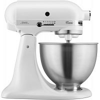 МИКСЕР KITCHENAID 5K45SSEFW БЕЛЫЙ